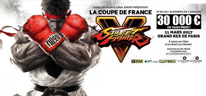 Première Coupe de France de Street Fighter 5 en direct