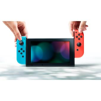 console nintendo switch avec manettes joy con n on. Black Bedroom Furniture Sets. Home Design Ideas
