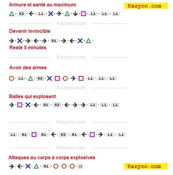 Découvrez tous les codes pour gta 5 PS4 en arabe كودات بالعربية : armes, santé, armures ...