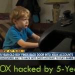 Xbox piraté par un garçon de 5 ans