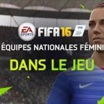 FIFA 16 intègre des équipes féminines