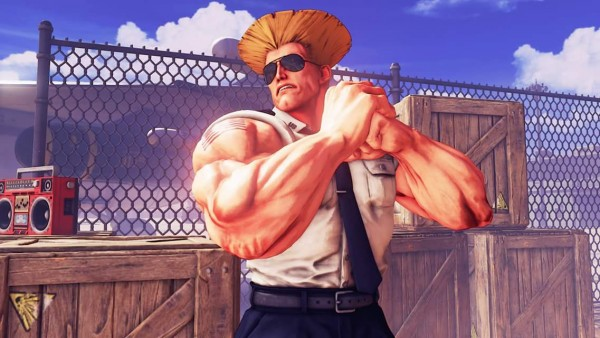 Nouveau Guile Street fighter 5