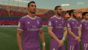 FIFA 17 graphisme réaliste
