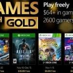 les jeux gratuits Xbox one et Xbox 360 de novembre 2016