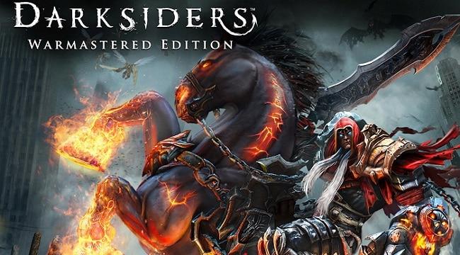 Darksiders Warmastered Edition vidéo de lancement trailer disponible sur xbox one et ps4 pro