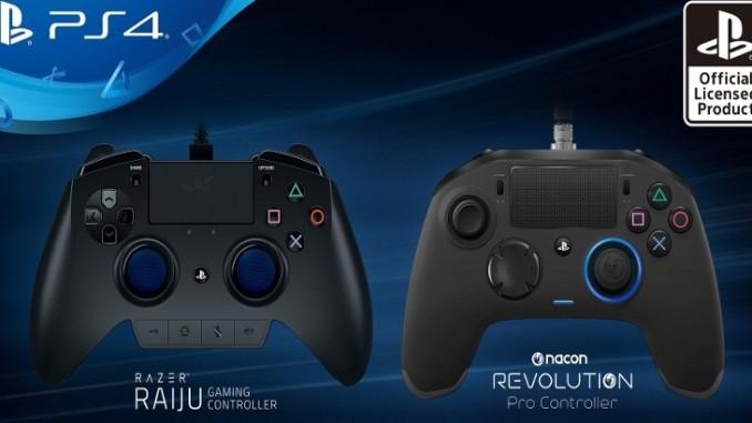 Deux nouvelles manettes PS4 pour les gamers professionnels