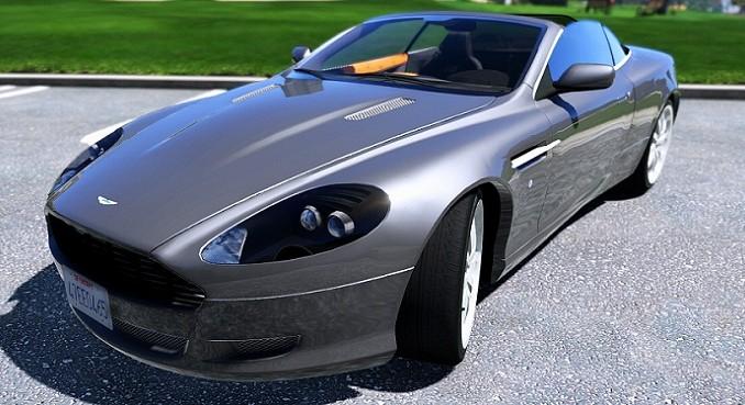 GTA 5 Mod Aston Martin DB9 Volante