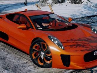 GTA 5 mod Jaguar C-X75