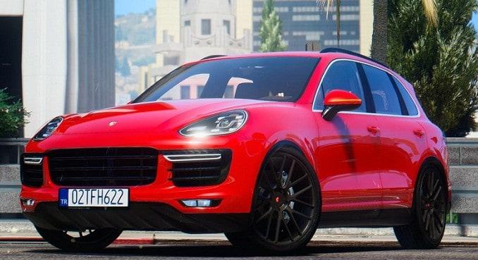 GTA 5 Mod Porsche Cayenne Turbo S 2016