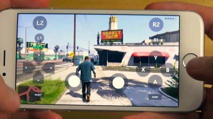 Télécharger GTA 5 version ios complète pour iphone