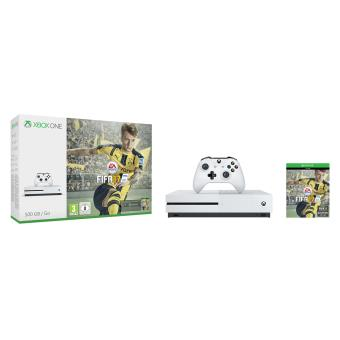 Console-Microsoft-Xbox-One-S-500-Go-Blanc offre special discount