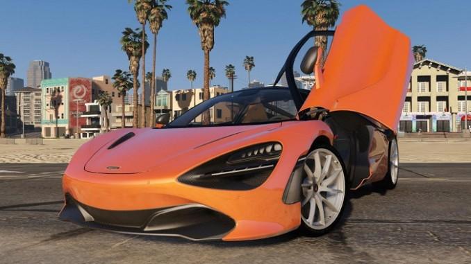 GTA V Mods 2018 McLaren 720S