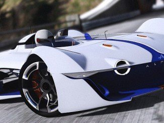 GTA V Mods Alpine Vision Gran Turismo concept 2015 télécharger