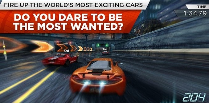 Need for Speed Most Wanted version iPhone ios telecharger gratuitement