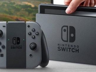 Nouveau firmware Nintendo Switch Mise à jour 2.1.0