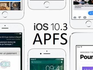 iOS 10.3 disponible en téléchargement pour iPhone et iPad
