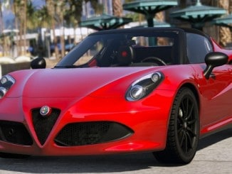 Alfa Romeo 4C Spider 2015 GTA V Mods - GTA 5 PC
