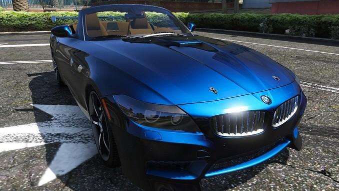 BMW Z4 GTA V Mods - Télécharger ce mod GTA 5 pour PC