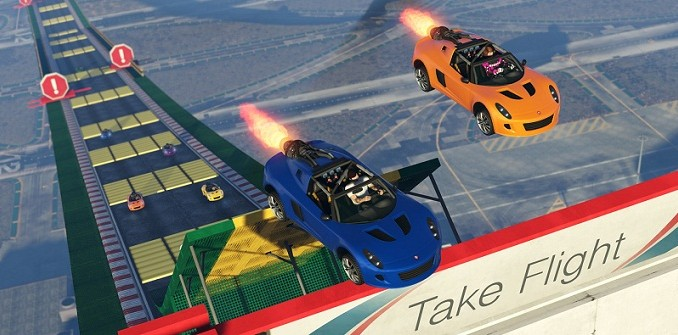 Bande-annonce GTA Online DLC Tiny Racers