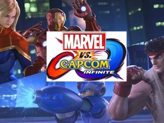 Bande-annonce Marvel vs Capcom Infinite- Avengers face à Ultron