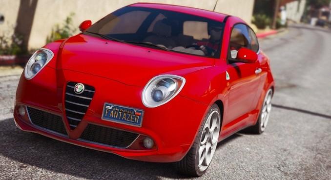 Nouvelle Alfa Romeo MiTo GTA 5 mods