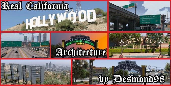 Real California Architecture mods GTA V télécharger gta 5 pour pc
