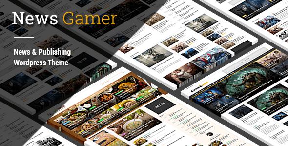 Télécharger Newspaper meilleurs des thèmes WordPress jeux video