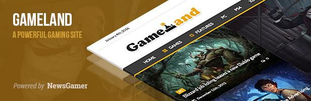 Télécharger meilleurs thèmes Wordpress jeux video, gaming