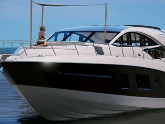 Yacht Sea Ray L650 express GTA V Mods -Télécharger