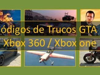 código de trucos gta 5 xbox 360 xbox one vehículos, Todas las armas, Invencibilidad, Policía y otros personajes trucos en español