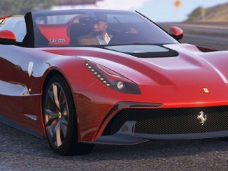 telecharger Ferrari F12 TRS Roadster GTA V Mods pour GTA 5 PC
