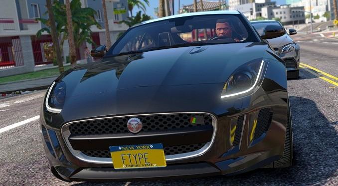 telecharger Jaguar F-Type R&SVR GTA V Mods pour GTA 5 PC