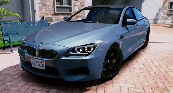 BMW M6 Gran Coupé 2016 GTA V Mods
