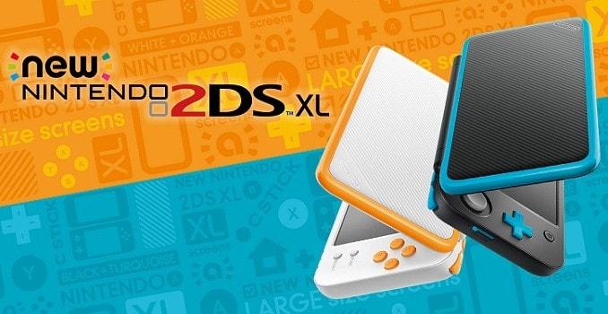 New Nintendo 2DS XL nouvelle console nintendo disponible le 28 juillet 2017 en Europe