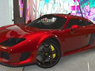 Noble M600 2010 supercar GTA V Mods pour GTA 5 PC telecharger