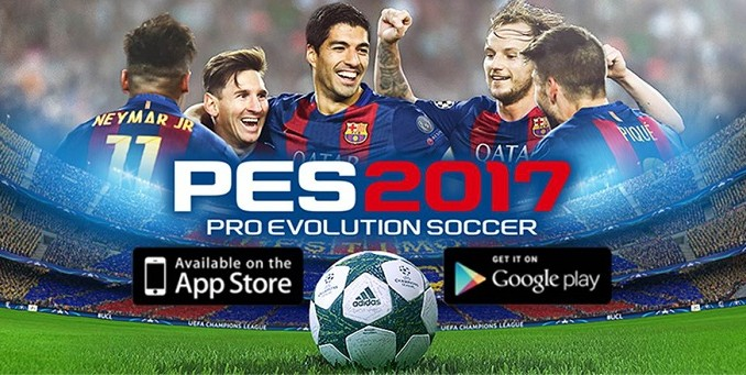 PES 2017 Mobile débarque sur iOS et Android - download