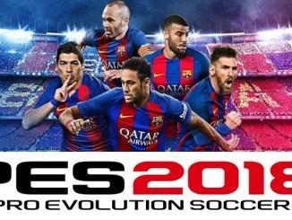 PES 2018 Date sortie officialisé édition spéciale FC Barcelone bande-annonce