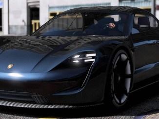 Porsche Mission E 2015 GTA V Mods