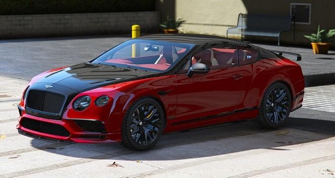 Bentley Supersport 2017 GTA V Mods