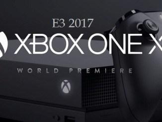 Microsoft-xbox-one-x-e3-2017 conférence