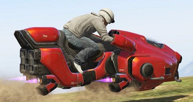 Sci-Fi Hover Bike GTA V Mods