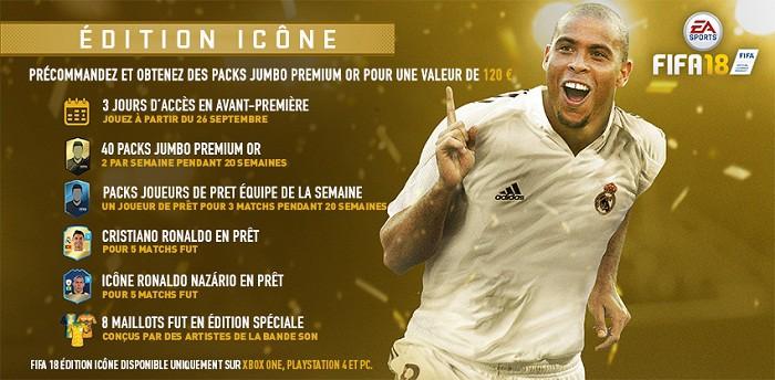 fifa 18 edition Ronaldo Nazário