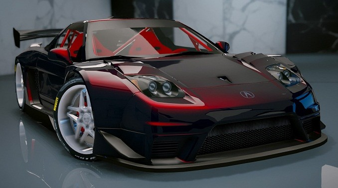 Acura NSX 2002 GTA V mod pour gta 5 pc Telecharger