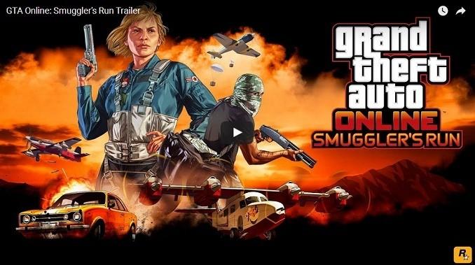 GTA 5 Online Contrebande Organisée Trailer du nouveau mode de jeu nouvelle mise à jour