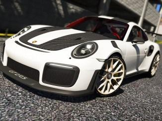 Porsche 911 GT2 RS FM7 2018 GTA V Mods telecharger pour gta 5 PC