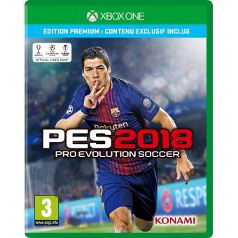 Acheter PES 2018 Edition Premium Day One Xbox One Konami