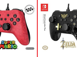 nintendo switch manette filaire plus zelda et super mario