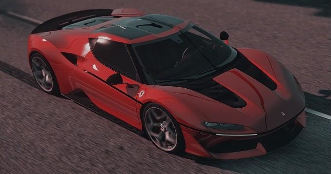 Ferrari J50 2017 gta 5 mod PC