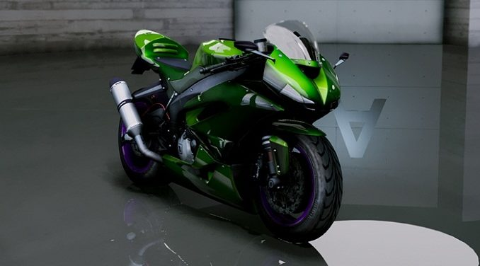 Kawasaki Ninja ZxR gta 5 mod