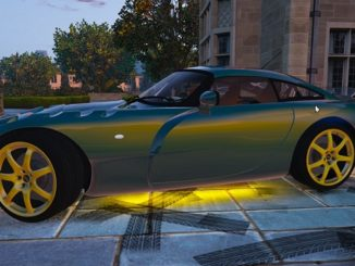 TVR Sagaris GTA V Mod